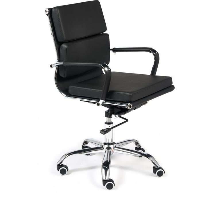 Кресло TetChair Besto-Low кожзам черный