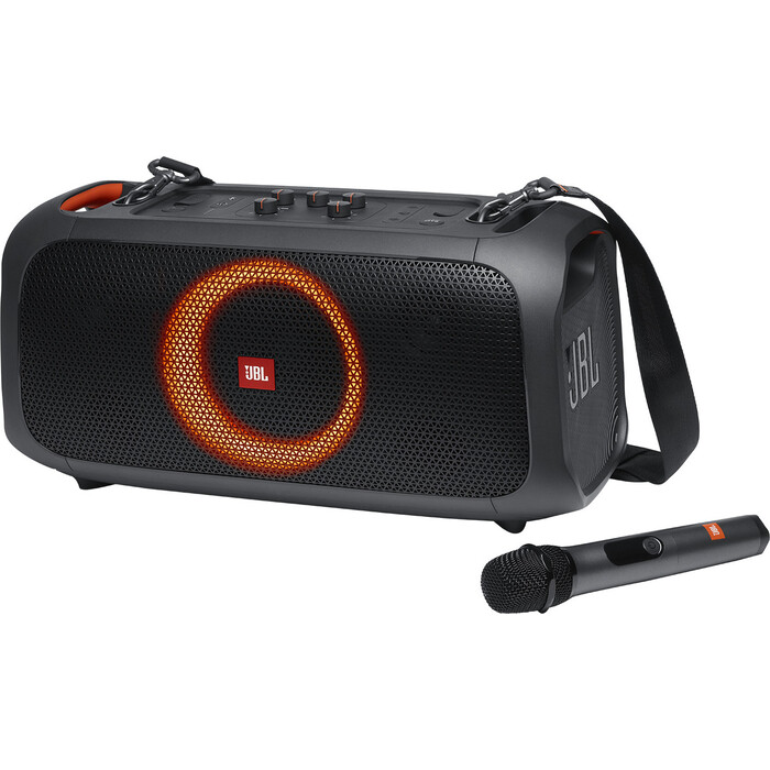 Портативная колонка JBL PartyBox On-The-Go (JBLPARTYBOXGOBRU) black