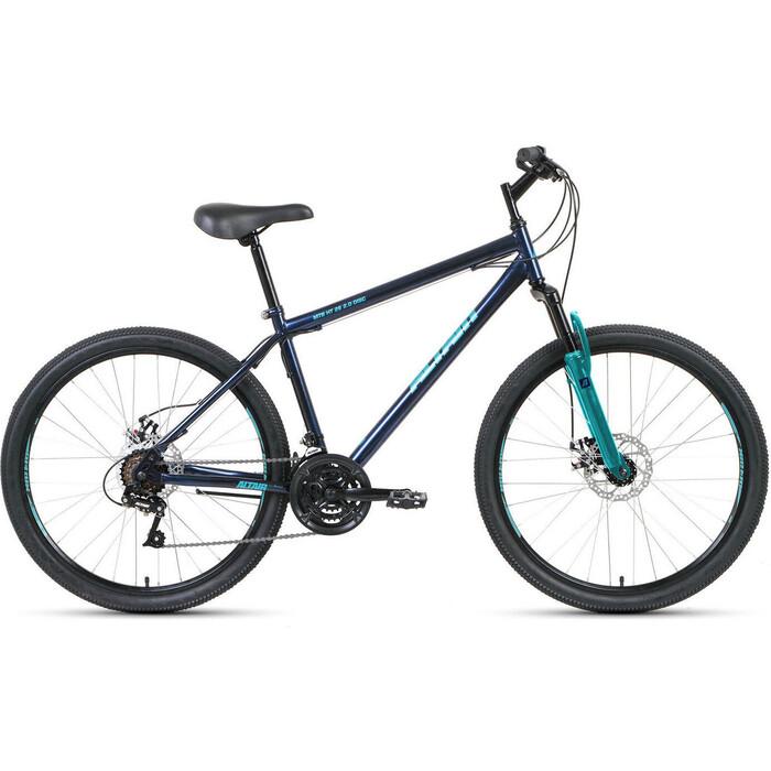 Велосипед Altair MTB HT 26 2.0 disc (2020) 17 темно-синий\бирюзовый