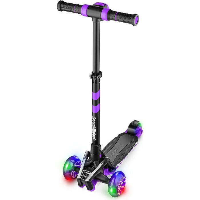 Трехколесный самокат Small Rider Premium Pro 2 Plus (фиолетовый) беговел small rider roadster pro 4 фиолетовый