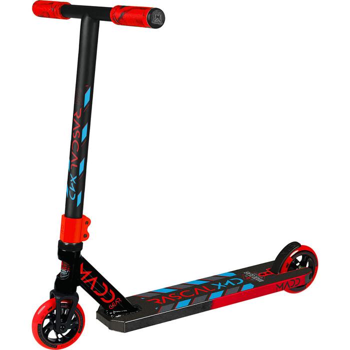 Картинка для Трюковый самокат Madd Gear Kick Rascal Scooter (2020) (красно-синий)