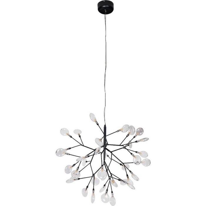 Люстра Crystal Lux Подвесная Evita SP36 Black/Transparent
