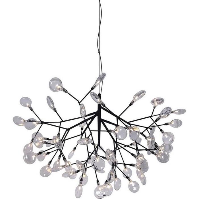 Люстра Crystal Lux Подвесная Evita SP63 BLack/Transparent