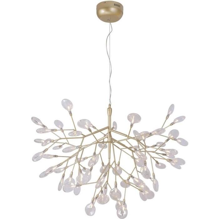 Люстра Crystal Lux Подвесная Evita SP63 Gold/Transparent