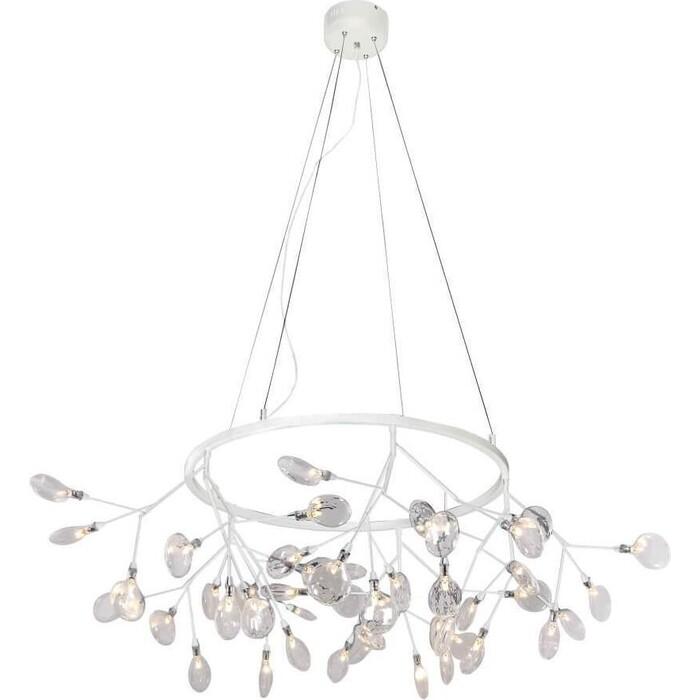 Люстра Crystal Lux Подвесная светодиодная Evita SP45 D White/Transparent