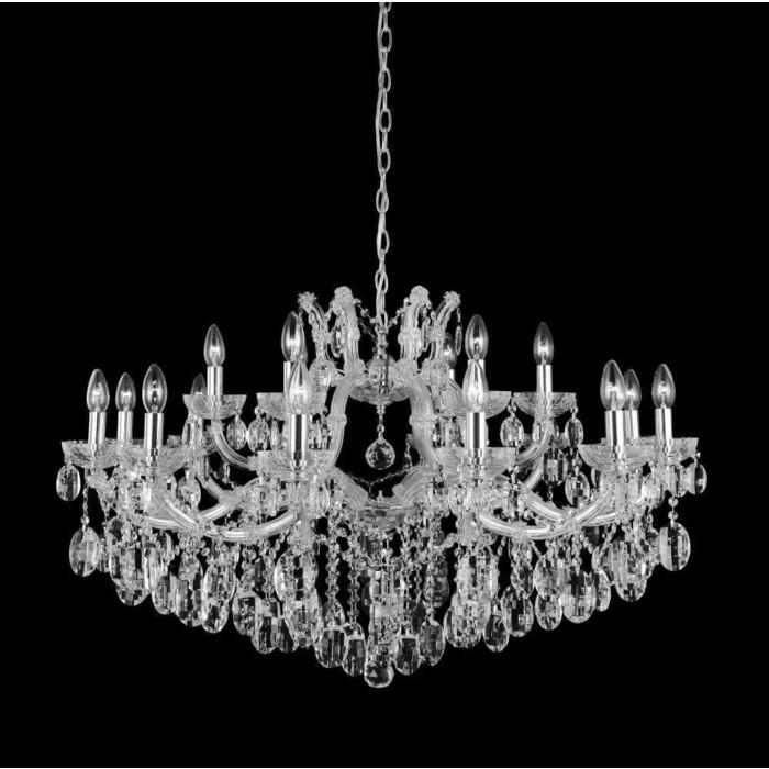 люстра apl22338791 6 chrome люстра arte perfetto luce Люстра Crystal Lux Подвесная Hollywood SP12+6 Chrome