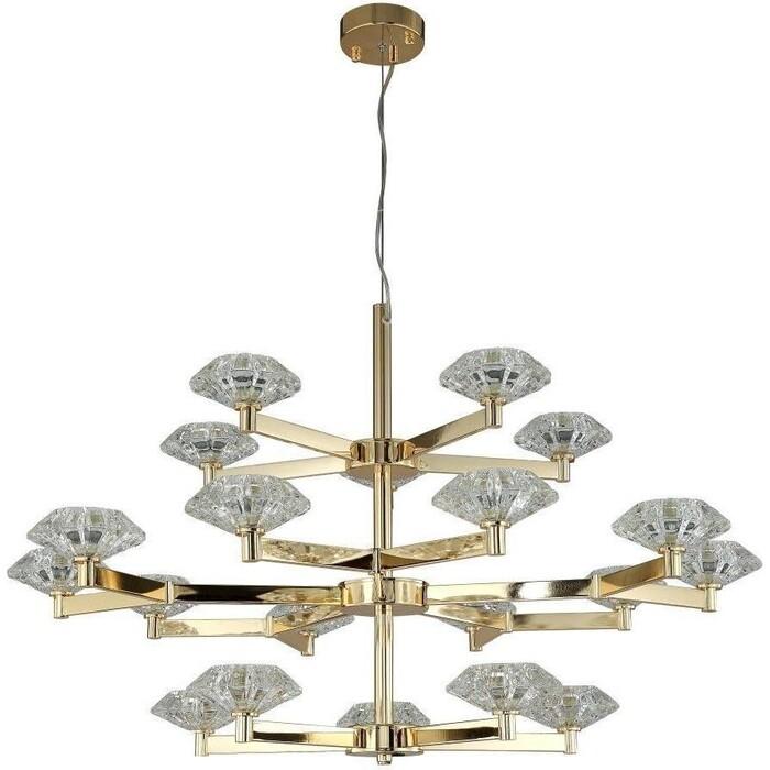Люстра Crystal Lux Подвесная Rebeca SP5+10+5 Gold