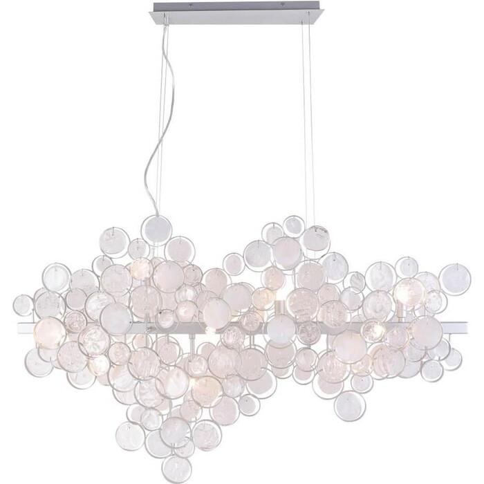 Светильник Crystal Lux Подвесной Deseo SP12 L1000 Silver