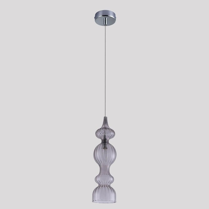Фото - Светильник Crystal Lux Подвесной Iris SP1 A Smoke подвесной светильник crystal lux ki sp1
