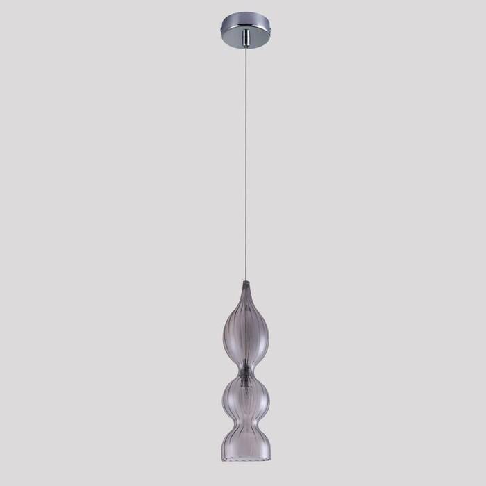 Фото - Светильник Crystal Lux Подвесной Iris SP1 B Smoke подвесной светильник crystal lux ki sp1