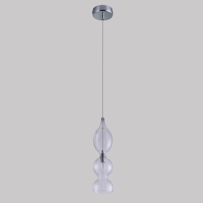 Фото - Светильник Crystal Lux Подвесной Iris SP1 B Transparent подвесной светильник crystal lux ki sp1