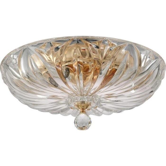 Светильник Crystal Lux Потолочный Denis D400 gold