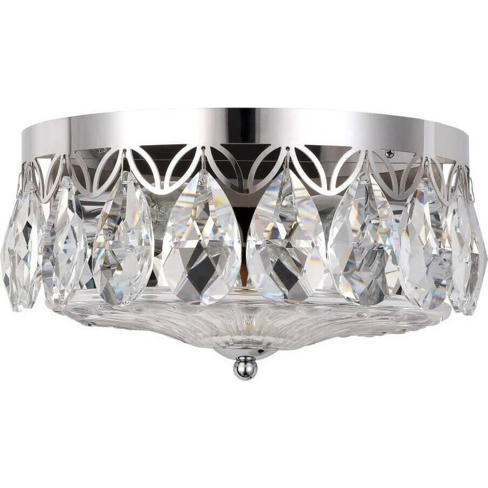 Светильник Crystal Lux Настенный Canaria AP2 Nickel светильник crystal lux canaria pl6 d480 nickel canaria nickel