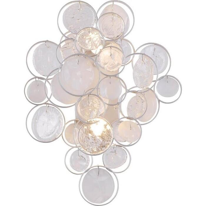 Светильник Crystal Lux Настенный Deseo AP2 Silver настенный светильник crystal lux alegria ap2 silver brown 120 вт