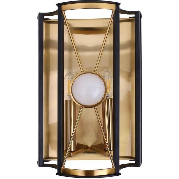 Светильник Crystal Lux Настенный Tandem AP2 Gold недорого