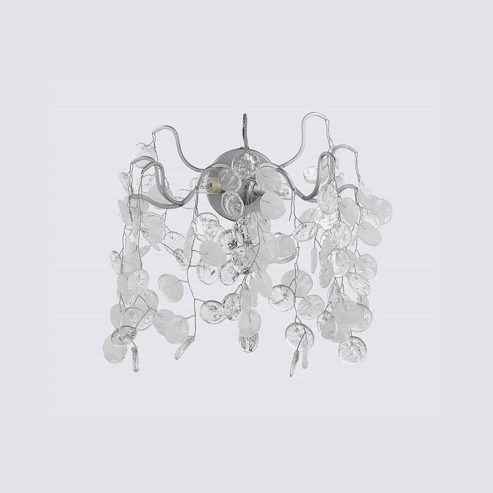 Светильник Crystal Lux Настенный Tenerife AP2 Silver настенный светильник crystal lux alegria ap2 silver brown 120 вт