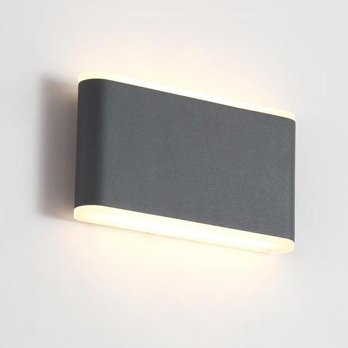 Светильник Crystal Lux Уличный настенный светодиодный CLT 024W175 DG