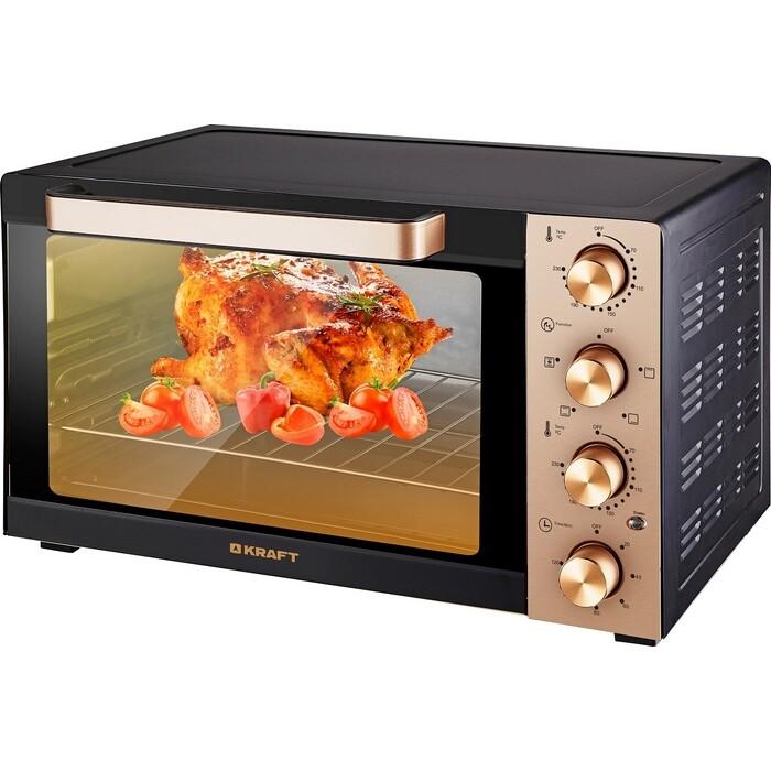 Фото - Мини-печь Kraft KF-MO 3505 KGL золотой мини печь kraft kf mo 4506 bl черный