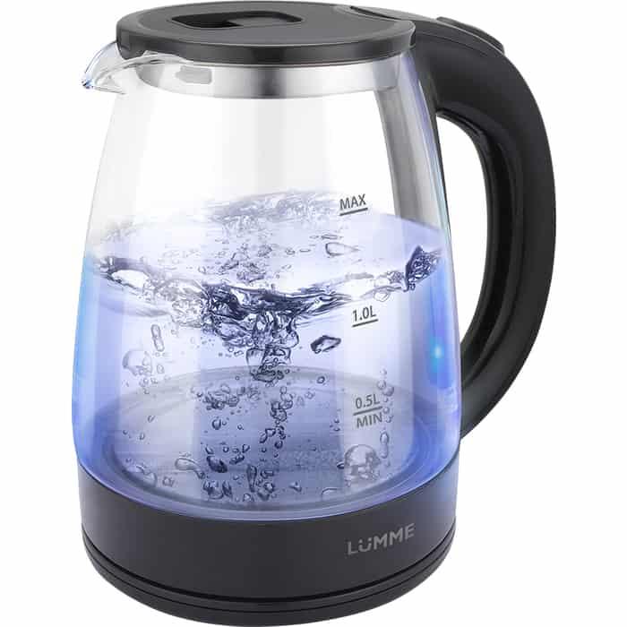 Чайник электрический Lumme LU-160 черный жемчуг