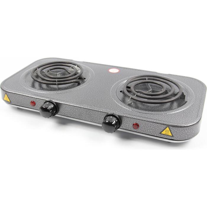 Плитка электрическая Lumme LU-3620 серебряный жемчуг