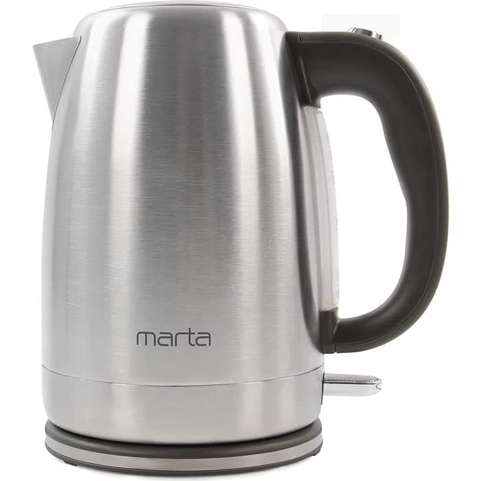 Чайник электрический Marta MT-4558 серый жемчуг