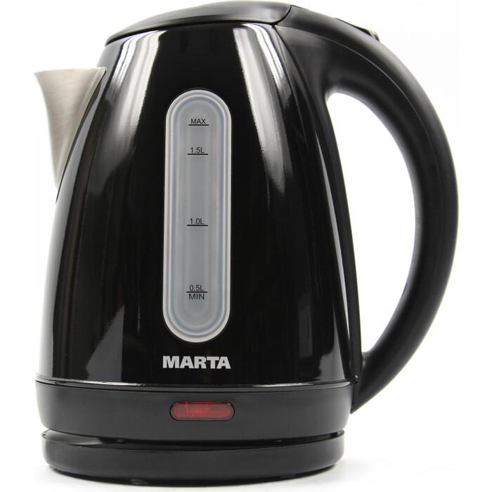 Чайник электрический Marta MT-1089 черный жемчуг