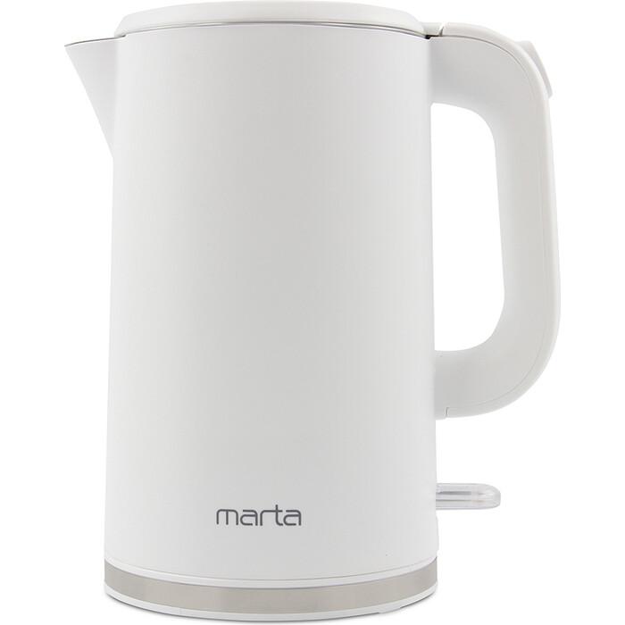Чайник электрический Marta MT-4556 белый жемчуг