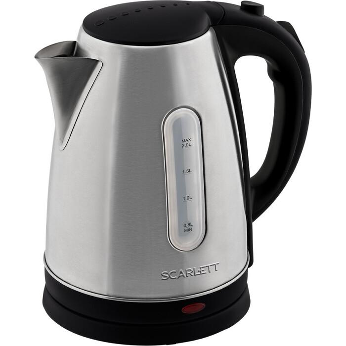 Фото - Чайник электрический Scarlett SC-EK21S96 нерж. чайник электрический scarlett sc ek21s71
