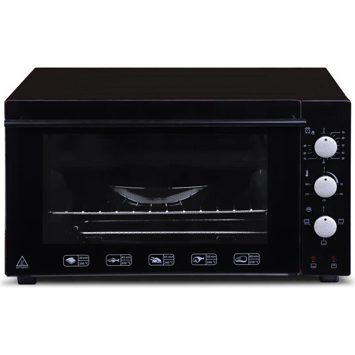 Мини-печь Shivaki MD4218L inox-black