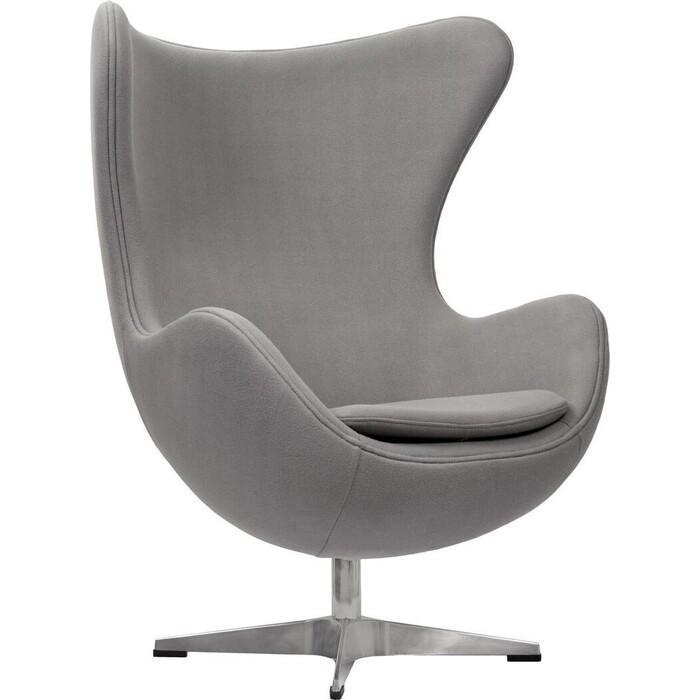 Bradex Кресло EGG CHAIR светло-серый кашемир