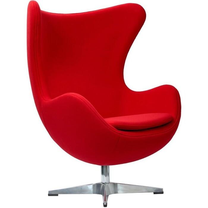 Bradex Кресло EGG CHAIR красный кашемир
