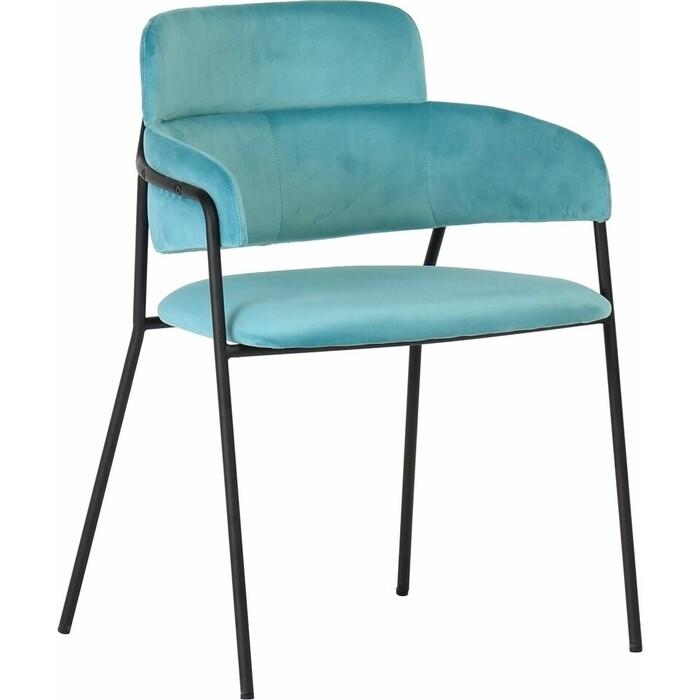 Стул Bradex Napoli светло-бирюзовый с черными ножками стул bradex seven голубой с черными ножками