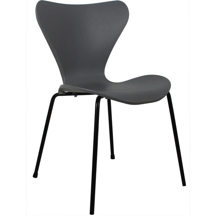 Стул Bradex Seven серый с черными ножками стул bradex seven голубой с черными ножками