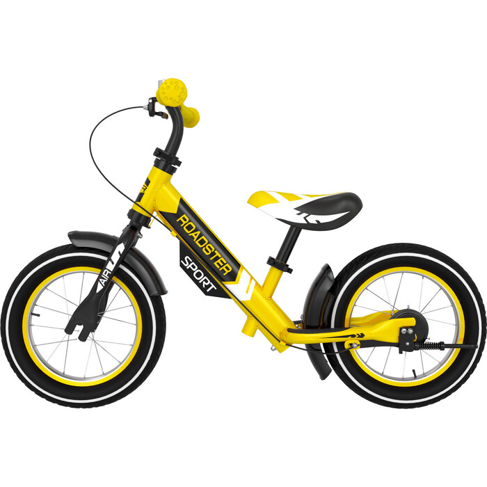 Фото - Беговел Small Rider Roadster Sport 4 AIR (желтый) беговел 700kids a1 сompetitive small scooter черно желтый cr02a