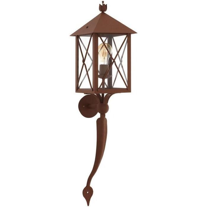 Светильник Eglo Уличный настенный Gaudesi 64754 настенный светильник eglo 83119