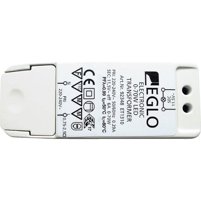 трансформатор Eglo диммируемый Electronic 11,5V 70W IP20 6A 92348
