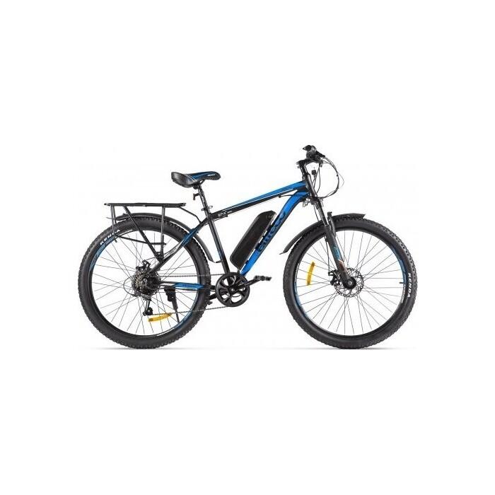 Велогибрид Eltreco XT 800 new черно-синий-2135