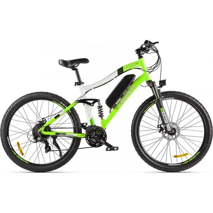 Велогибрид Eltreco FS900 new Зелено-белый-2207