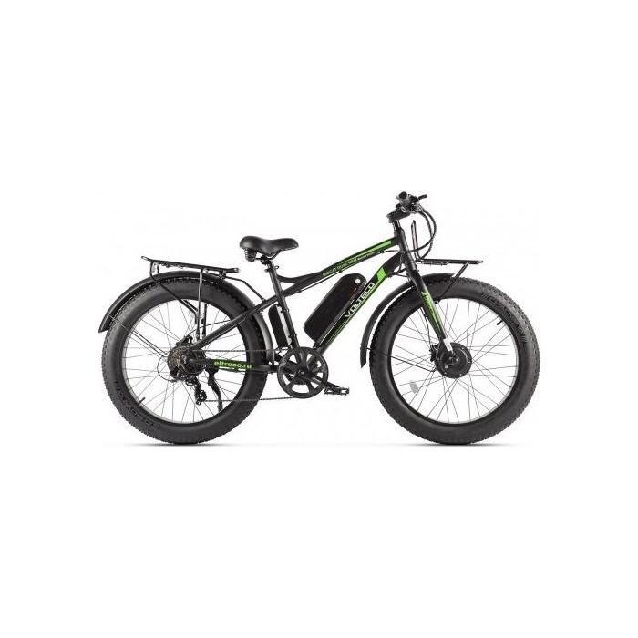 Велогибрид VOLTECO BIGCAT DUAL NEW Черный-2307