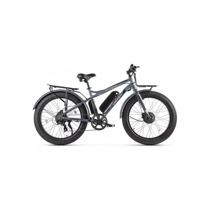 Велогибрид VOLTECO BIGCAT DUAL NEW Серый-2309