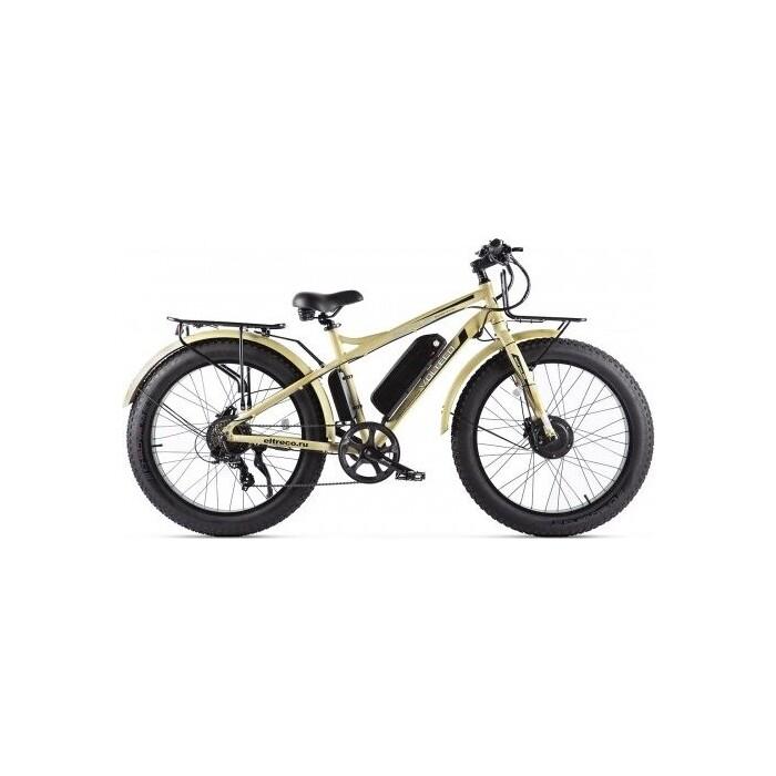 Велогибрид VOLTECO BIGCAT DUAL NEW Бежевый-2310