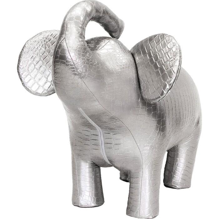 Картинка для Пуф Leset Слон 2 серебристый