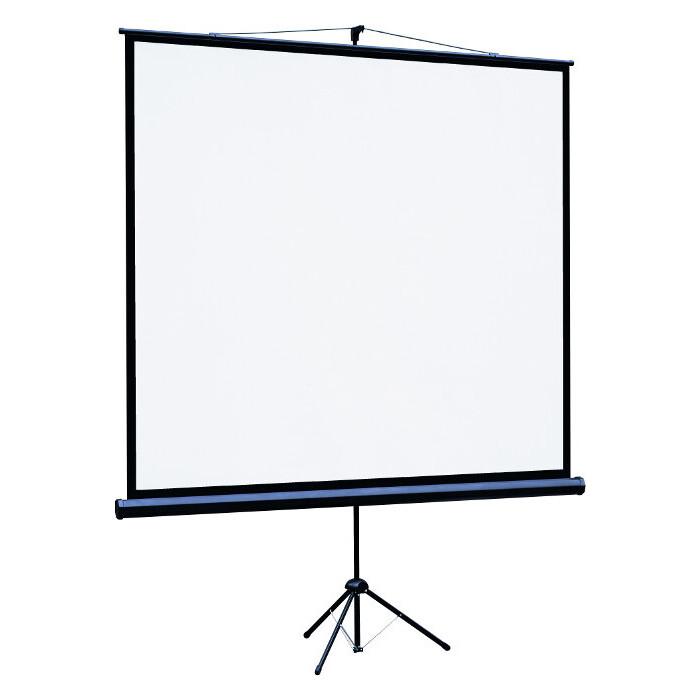 Экран для проектора Lumien Eco View LEV-100107 (180x180 / 1\1 напольный matte white)