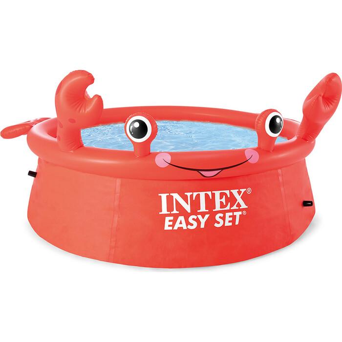 Надувной бассейн Intex 26100 183x51 см Веселый Краб 886 л