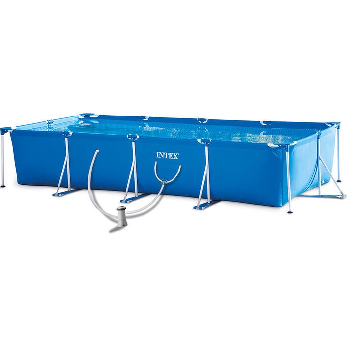 Каркасный бассейн Intex 28274 450x220x84 см, 7127 л, фил.-насос 2006 л\ч