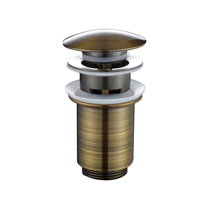 Донный клапан Kaiser автомат, Bronze (8036Br)