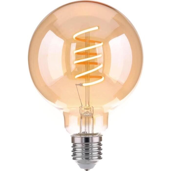 Лампа Elektrostandard светодиодная филаментная E27 8W 3300K прозрачная 4690389047732