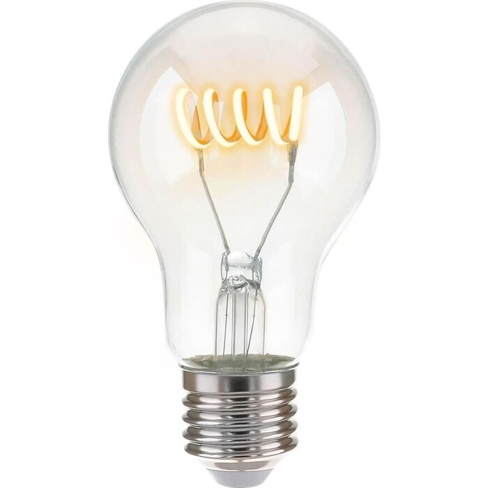 Лампа Elektrostandard светодиодная филаментная E27 6W 4200K прозрачная 4690389041532