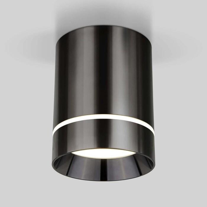Светильник Elektrostandard Потолочный светодиодный Topper DLR021 черный жемчуг 4690389167621