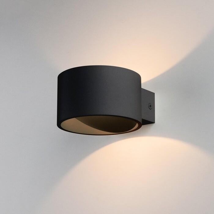 Светильник Elektrostandard Настенный светодиодный Coneto Led черный MRL 1045 4690389168031